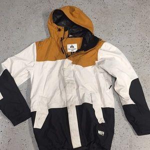 Men's NEFF snowboarding jacket large